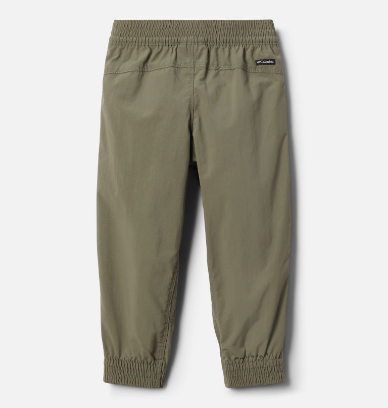 Silver Ridge™ Pull-On Banded Pant | 397 | 3T Girls Toddler Silver Ridge™ Pull–On Banded Pants, Stone Green, back
