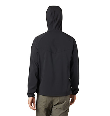 Men's Heather Canyon™ Softshell Jacket Heather Canyon™ Jacket | 316 | XXL, Black, back