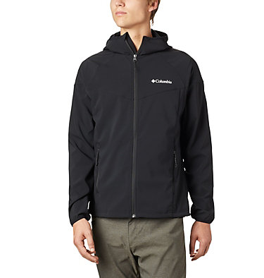 Men's Heather Canyon™ Softshell Jacket Heather Canyon™ Jacket | 316 | XXL, Black, front