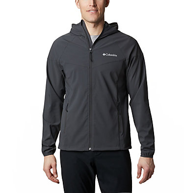 Men's Heather Canyon™ Softshell Jacket Heather Canyon™ Jacket | 316 | XXL, Shark, front