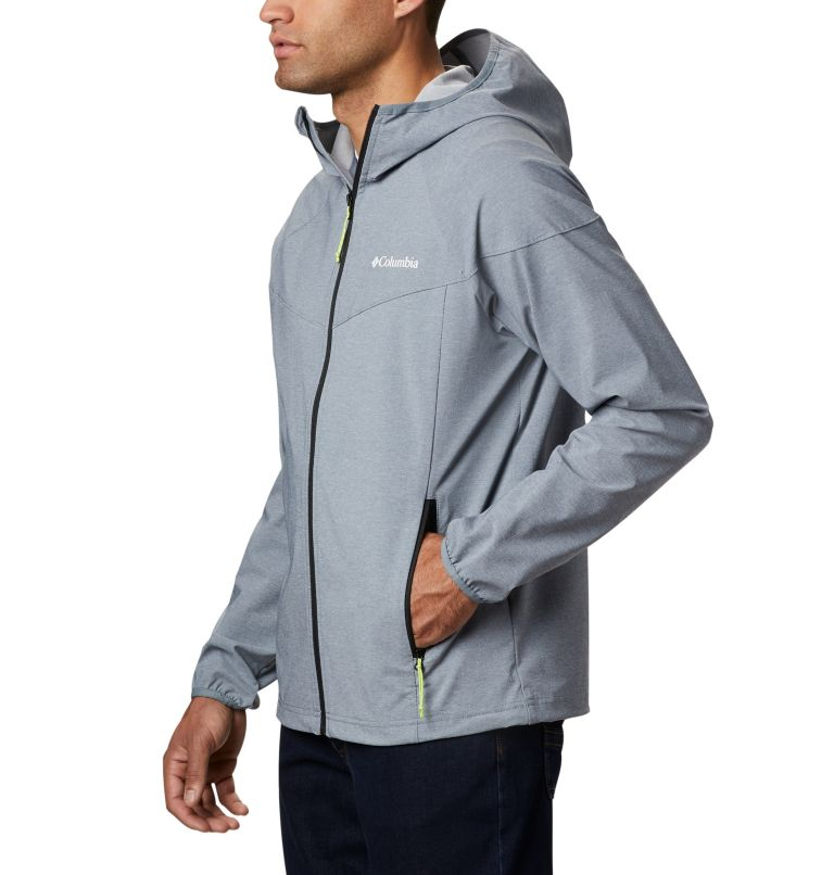 Heather Canyon™ Jacket | 021 | XL Men's Heather Canyon™ Softshell Jacket, Grey Ash Heather, a1