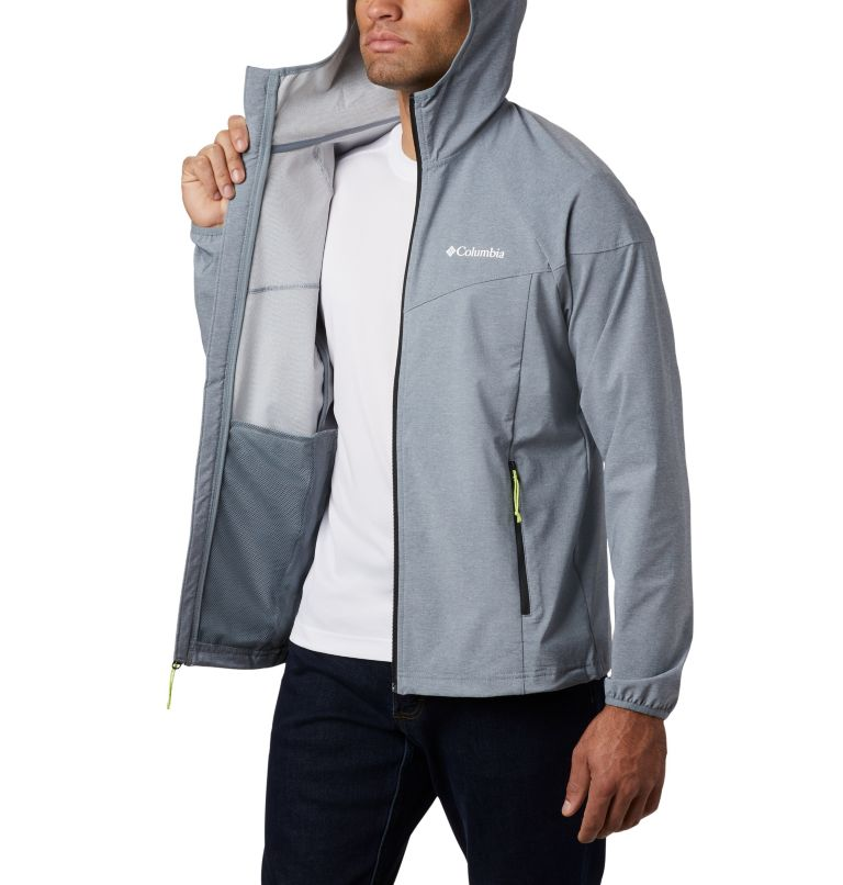 Men's Heather Canyon™ Softshell Jacket Men's Heather Canyon™ Softshell Jacket, a3
