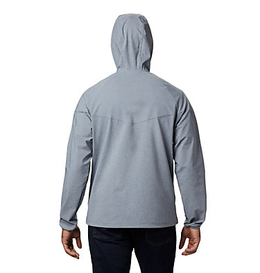 Men's Heather Canyon™ Softshell Jacket Heather Canyon™ Jacket | 316 | XXL, Grey Ash Heather, back