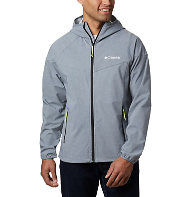 Men's Heather Canyon™ Softshell Jacket Heather Canyon™ Jacket | 316 | XXL, Grey Ash Heather, front