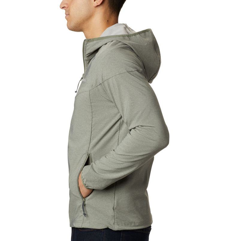 Heather Canyon™ Jacket | 316 | XXL Men's Heather Canyon™ Softshell Jacket, Cypress Heather, a1