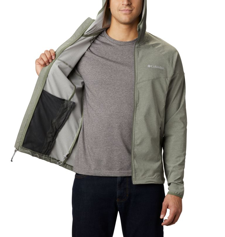 Heather Canyon™ Jacket | 316 | XXL Men's Heather Canyon™ Softshell Jacket, Cypress Heather, a3