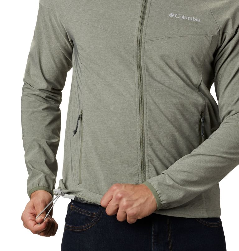 Heather Canyon™ Jacket | 316 | XXL Men's Heather Canyon™ Softshell Jacket, Cypress Heather, a4