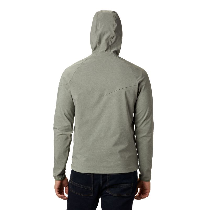 Heather Canyon™ Jacket | 316 | XXL Men's Heather Canyon™ Softshell Jacket, Cypress Heather, back