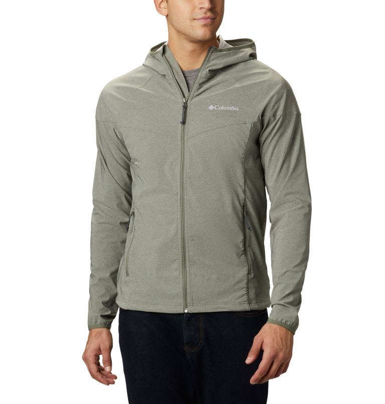 Heather Canyon™ Jacket | 316 | XXL Men's Heather Canyon™ Softshell Jacket, Cypress Heather, front