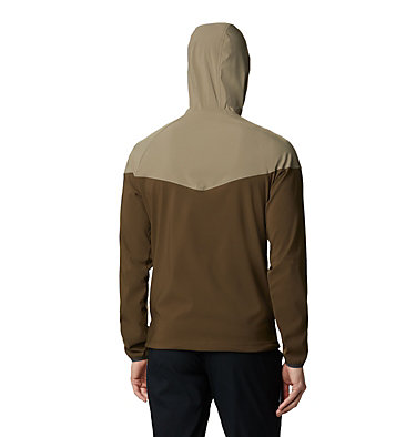 Men's Heather Canyon™ Softshell Jacket , back