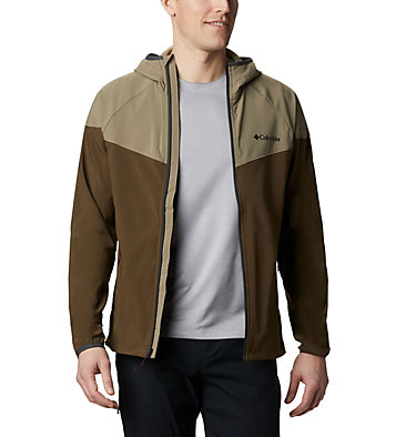 Men's Heather Canyon™ Softshell Jacket Heather Canyon™ Jacket | 316 | XXL, Olive Green, Sage, front