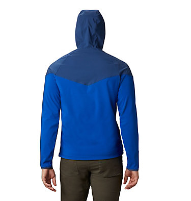 Men's Heather Canyon™ Softshell Jacket Heather Canyon™ Jacket | 316 | XXL, Azul, Carbon, back