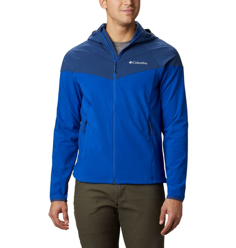 Men's Heather Canyon™ Softshell Jacket Men's Heather Canyon™ Softshell Jacket, front