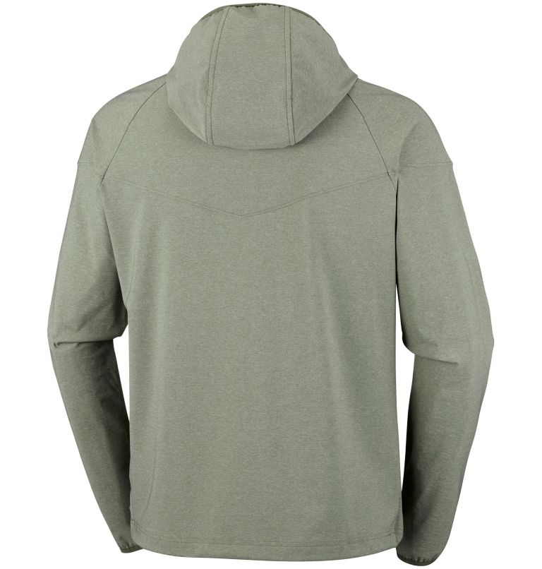 Men's Heather Canyon™ Softshell Jacket – Extended Sizes Men's Heather Canyon™ Softshell Jacket – Extended Sizes, back