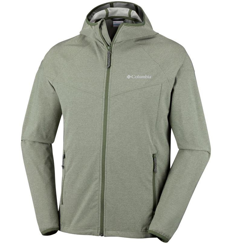 Men's Heather Canyon™ Softshell Jacket – Extended Sizes Men's Heather Canyon™ Softshell Jacket – Extended Sizes, front