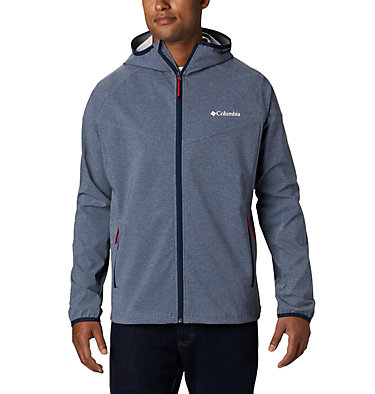 Softshell Heather Canyon™ Homme–Grandes tailles , front