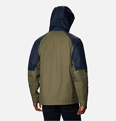 Men's Watertight™ Trek Jacket Watertight™ Trek Jacket | 369 | L, Stone Green, Collegiate Navy, back