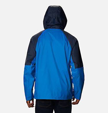 Men's Watertight™ Trek Jacket Watertight™ Trek Jacket | 369 | L, Bright Indigo, Collegiate Navy, back