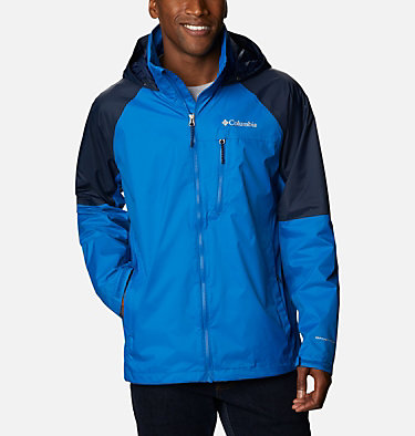 Men's Watertight™ Trek Jacket Watertight™ Trek Jacket | 369 | L, Bright Indigo, Collegiate Navy, front