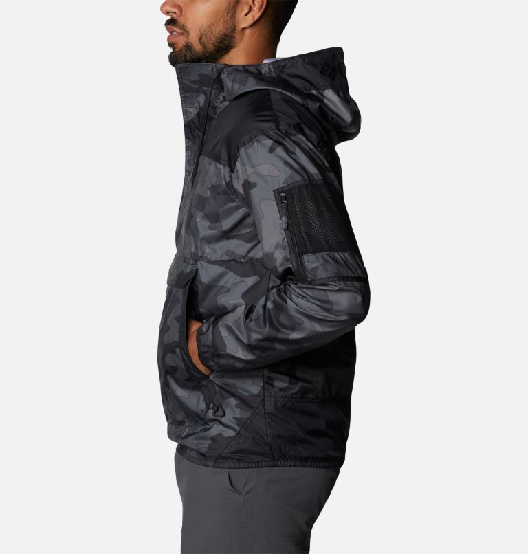 Challenger™ Windbreaker | 015 | L Coupe-vent Challenger™ Homme, Black Trad Camo, Black, a1