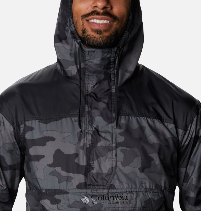 Challenger™ Windbreaker | 015 | L Coupe-vent Challenger™ Homme, Black Trad Camo, Black, a2