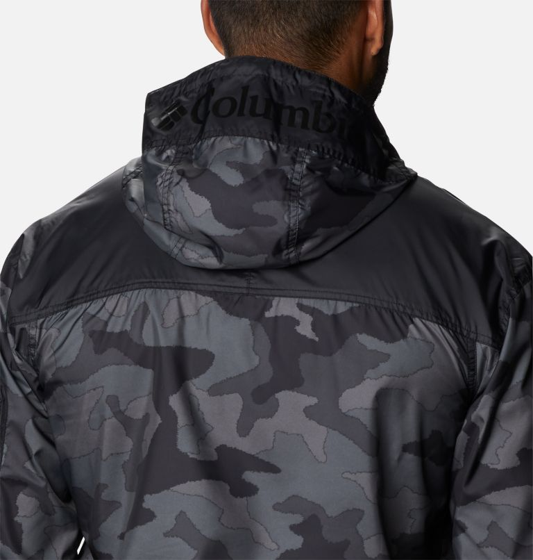 Challenger™ Windbreaker | 015 | L Coupe-vent Challenger™ Homme, Black Trad Camo, Black, a3