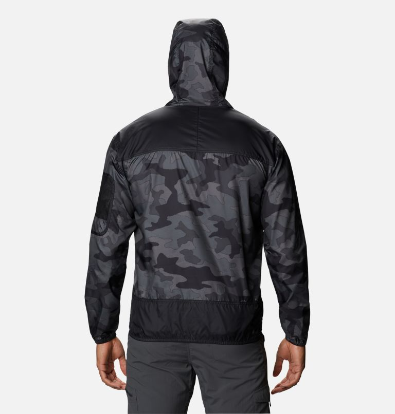 Challenger™ Windbreaker | 015 | M Coupe-vent Challenger™ Homme, Black Trad Camo, Black, back