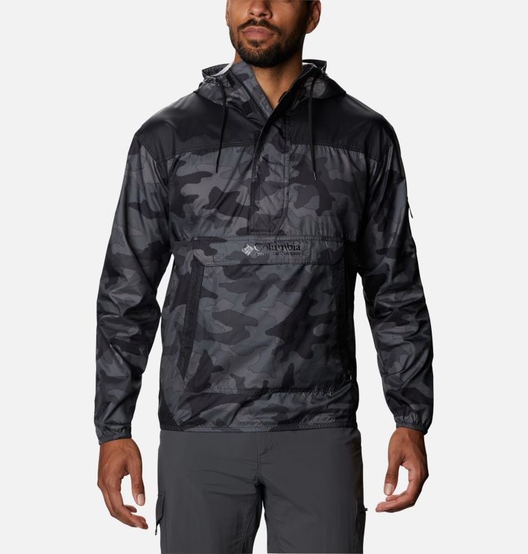 Challenger™ Windbreaker | 015 | L Coupe-vent Challenger™ Homme, Black Trad Camo, Black, front