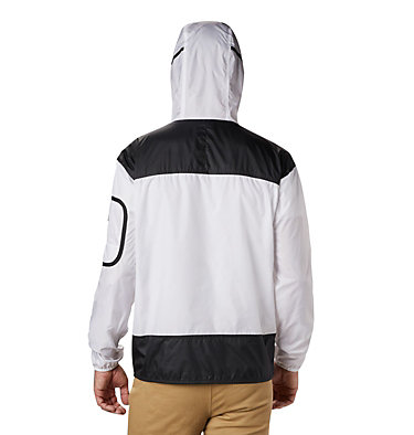 Men's Challenger™ Windbreaker Challenger™ Windbreaker | 010 | L, White, Black, back