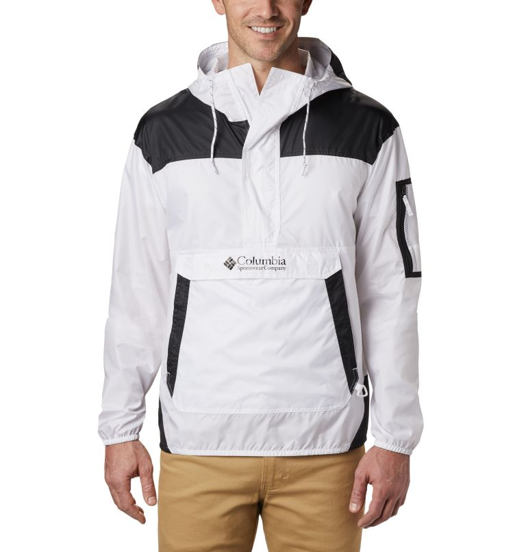 Challenger™ Windbreaker | 101 | L Men's Challenger™ Windbreaker, White, Black, front