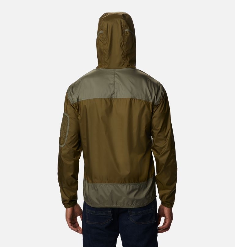 Challenger™ Windbreaker | 328 | XL Men's Challenger™ Windbreaker, New Olive, Stone Green, back