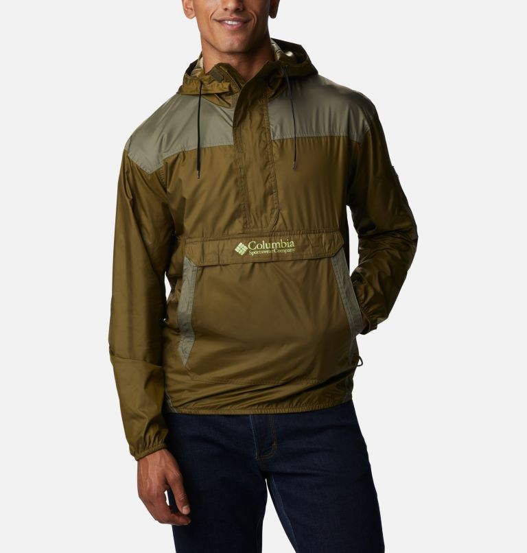 Challenger™ Windbreaker | 328 | XL Men's Challenger™ Windbreaker, New Olive, Stone Green, front