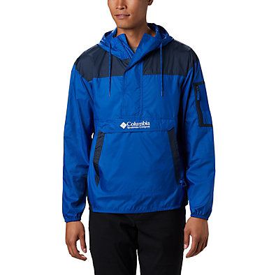 Men's Challenger™ Windbreaker Challenger™ Windbreaker | 010 | L, Azul, Collegiate Navy, front