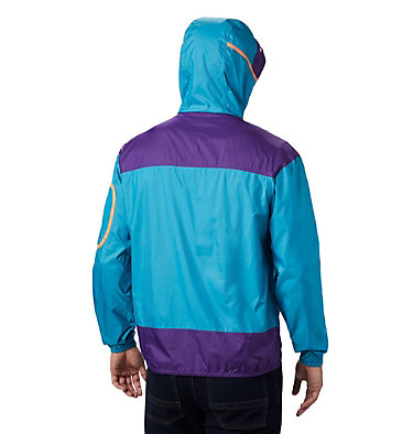 Men's Challenger™ Windbreaker Challenger™ Windbreaker | 010 | L, Clear Water, Vivid Purple, back