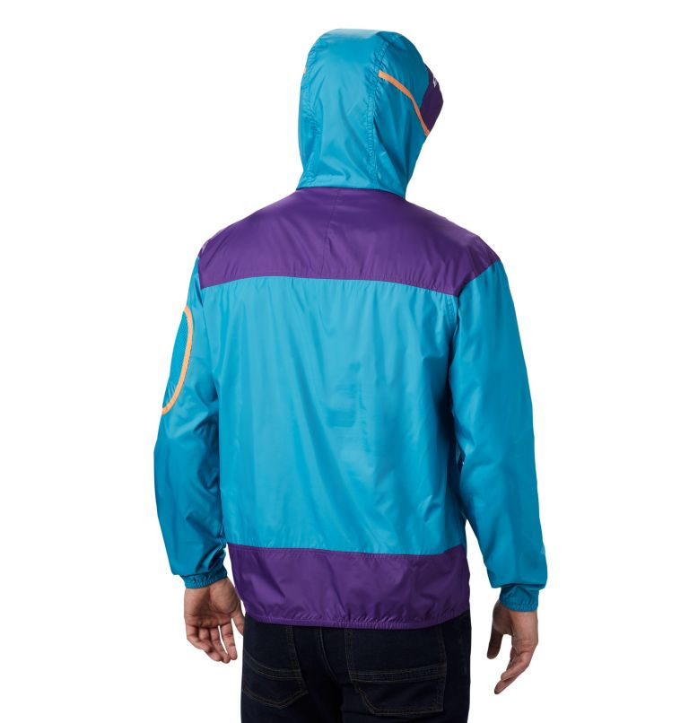Challenger™ Windbreaker | 450 | XXL Coupe-vent Challenger™ Homme, Clear Water, Vivid Purple, back