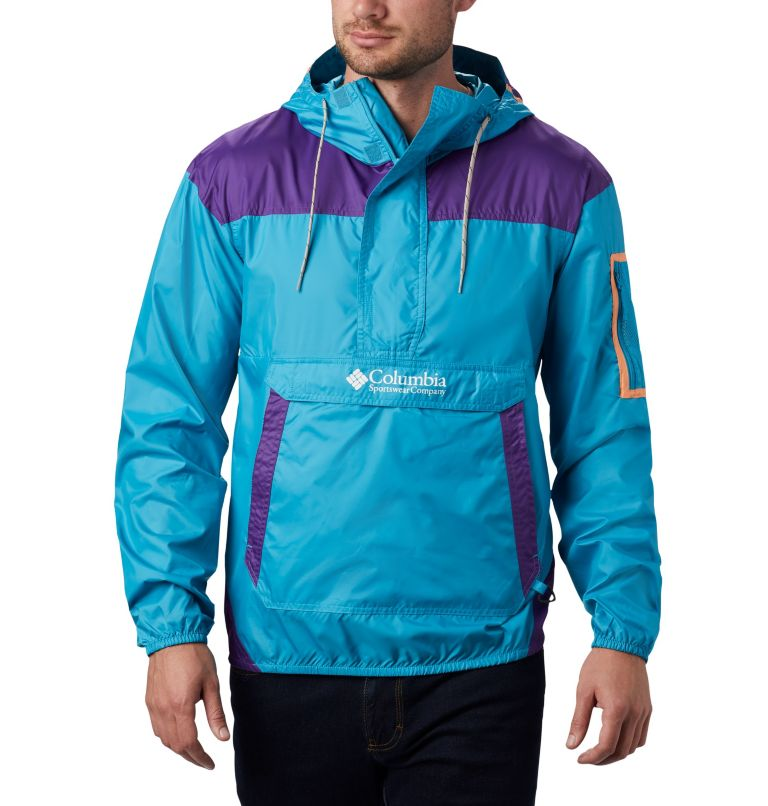 Challenger™ Windbreaker | 450 | XXL Men's Challenger™ Windbreaker, Clear Water, Vivid Purple, front