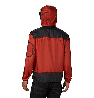 Men's Challenger™ Windbreaker Challenger™ Windbreaker | 010 | L, Carnelian Red, Shark, back