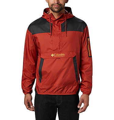 Men's Challenger™ Windbreaker Challenger™ Windbreaker | 010 | L, Carnelian Red, Shark, front