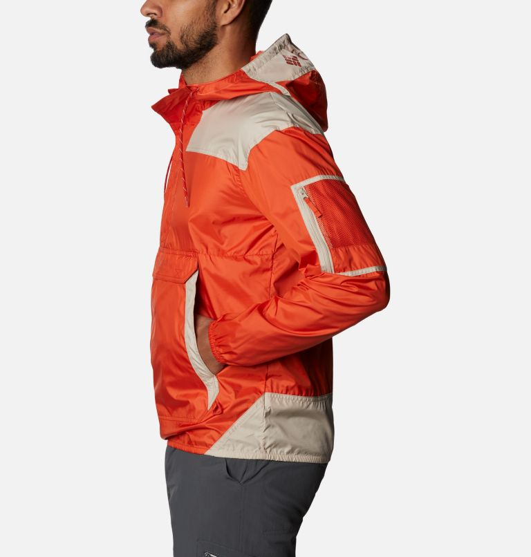 Challenger™ Windbreaker | 846 | M Men's Challenger™ Windbreaker, Bonfire, Ancient Fossil, a1