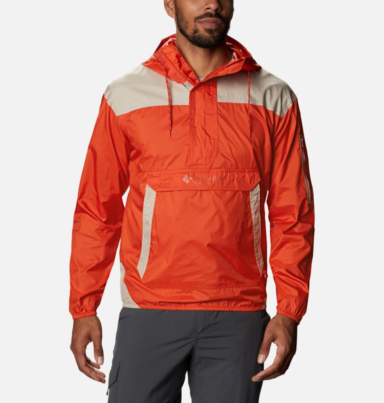 Challenger™ Windbreaker | 846 | M Men's Challenger™ Windbreaker, Bonfire, Ancient Fossil, front