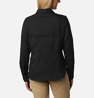 Women's Silver Ridge™ Lite Long Sleeve Silver Ridge™ Lite Long Sleeve Shirt | 472 | L, Black, back