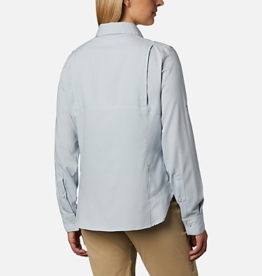 Women's Silver Ridge™ Lite Long Sleeve Silver Ridge™ Lite Long Sleeve Shirt | 549 | L, Cirrus Grey, back