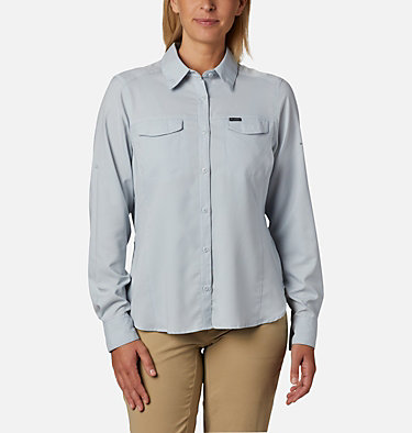 Women's Silver Ridge™ Lite Long Sleeve Silver Ridge™ Lite Long Sleeve Shirt | 549 | L, Cirrus Grey, front