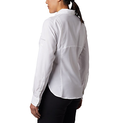 Women's Silver Ridge™ Lite Long Sleeve Silver Ridge™ Lite Long Sleeve Shirt | 549 | L, White, back
