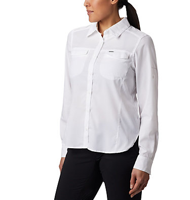 Women's Silver Ridge™ Lite Long Sleeve Silver Ridge™ Lite Long Sleeve Shirt | 472 | L, White, front