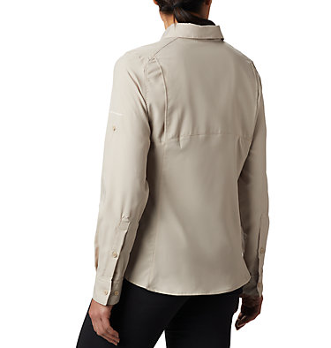 Women's Silver Ridge™ Lite Long Sleeve Silver Ridge™ Lite Long Sleeve Shirt | 549 | L, Fossil, back