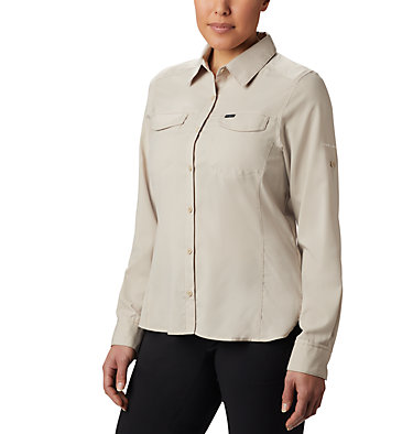 Women's Silver Ridge™ Lite Long Sleeve Silver Ridge™ Lite Long Sleeve Shirt | 549 | L, Fossil, front
