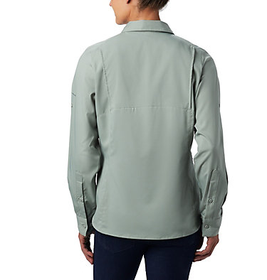 Women's Silver Ridge™ Lite Long Sleeve Silver Ridge™ Lite Long Sleeve Shirt | 549 | L, Light Lichen, back