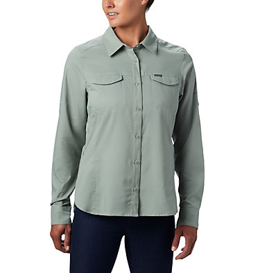 Women's Silver Ridge™ Lite Long Sleeve Silver Ridge™ Lite Long Sleeve Shirt | 549 | L, Light Lichen, front