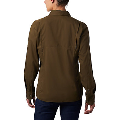 Women's Silver Ridge™ Lite Long Sleeve Silver Ridge™ Lite Long Sleeve Shirt | 472 | L, Olive Green, back